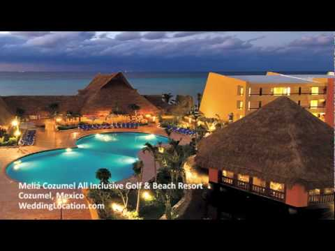 Mexico Wedding Meli 225 Cozumel All Inclusive Golf Amp Beach