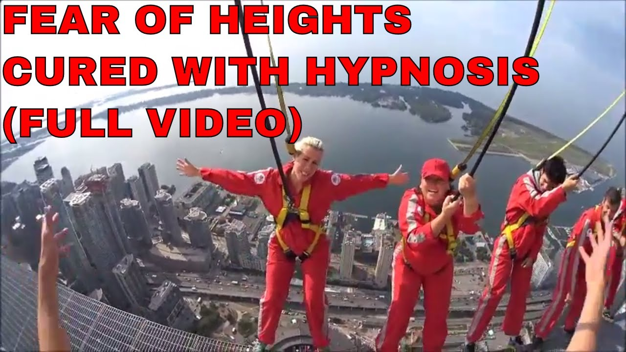 Fear of Heights CURED with Hypnosis (Proof) - YouTube