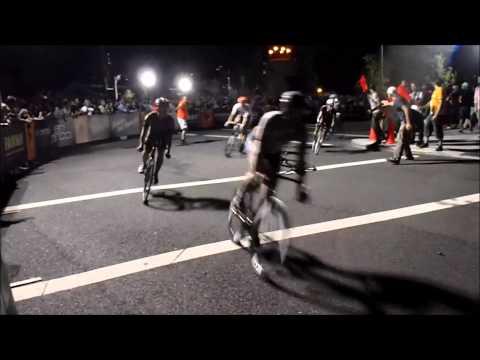 Red Hook Crit 2013, Bike Race Crashes Comp.