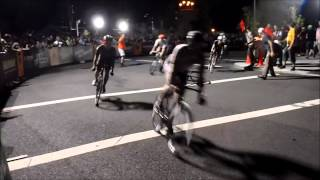 Red Hook Crit 2013, Bike Race Crashes Comp.