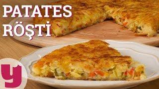 Patates Röşti (İçi Dopdolu!)   Yemek.com