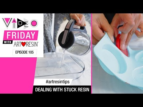 How To Remove Stuck Resin From A Silicone Mold