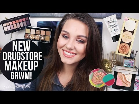 Chit Chat GRWM | Testing ALL NEW DRUGSTORE Makeup!!