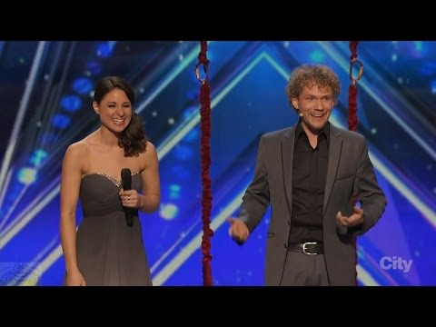America's Got Talent 2016 Amelie and Thommy The Clairvoyants Full Audition Clip S11E01