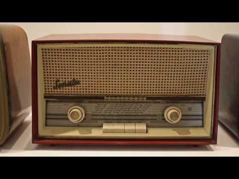 Exposición de radios antiguas