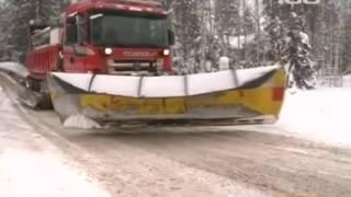 Зимние дороги в Финляндии и России