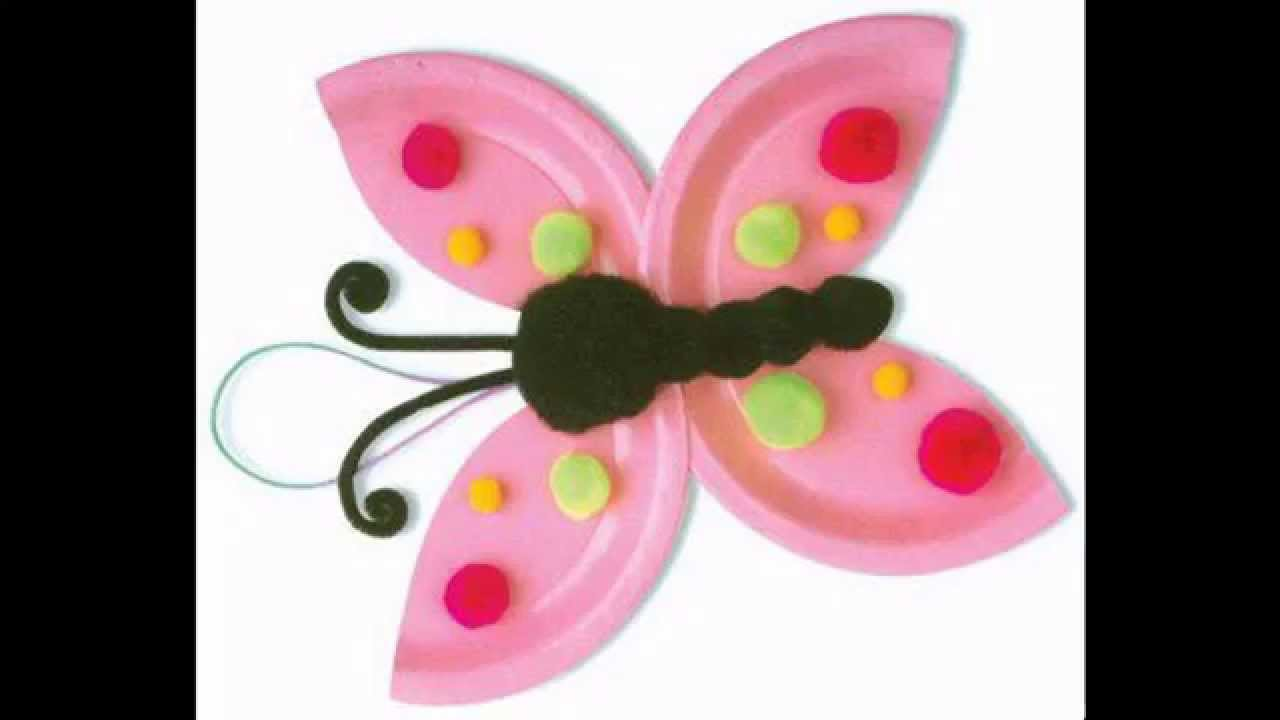 Creative Butterfly Crafts Ideas For Kids