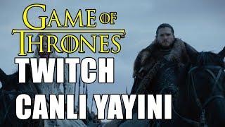 GAME of THRONES İNCELEME; FRAGMAN TEORİLER #TWITCH CANLI YAYINLARI