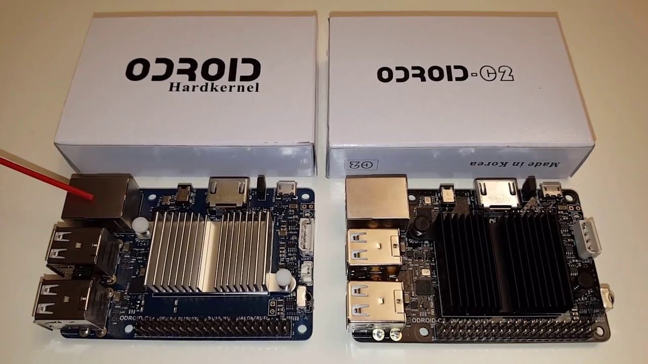 Odroid C1+ vs Odroid C2 en detalle