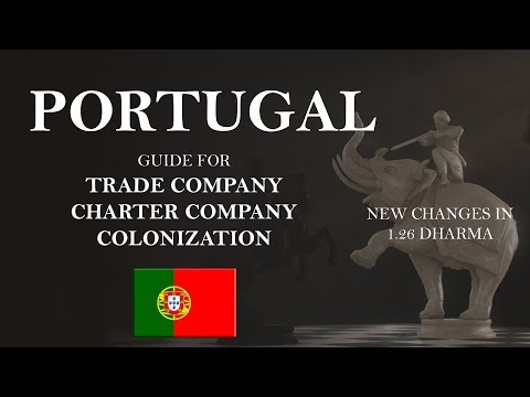 EU4 Portugal Guide 1.26 | New Trade Company, Charter, Colonization Changes | Tutorial