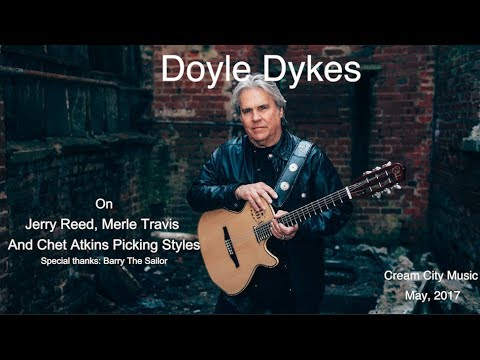 Cream City Music LIVE: Doyle Dykes Thumbpicking Styles Of The Greats
