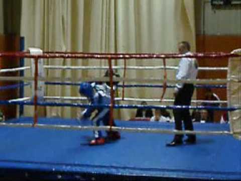 Pelea de kick boxing