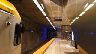 Metro Gold Line in Los Angeles - Exterior & Interior