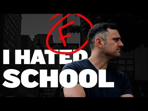 I HATED SCHOOL