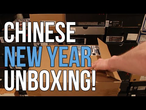 UNBOXING #38: HAPPY CHINESE NEW YEAR!