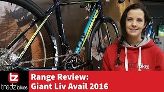 Giant Liv Avail 2016 Range Review