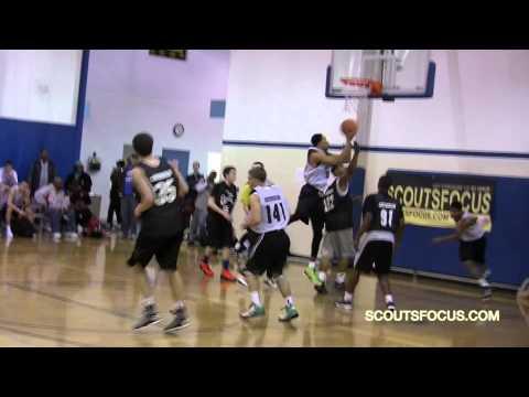 Team2 #44 Lajuane Marshall 6'3 160 covert high school 2014 MI