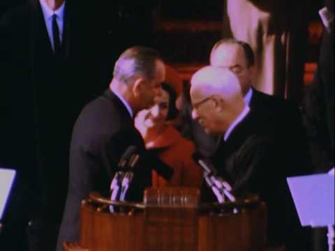 INAUGURATION OF PRESIDENT LYNDON B. JOHNSON, 01/20/1965