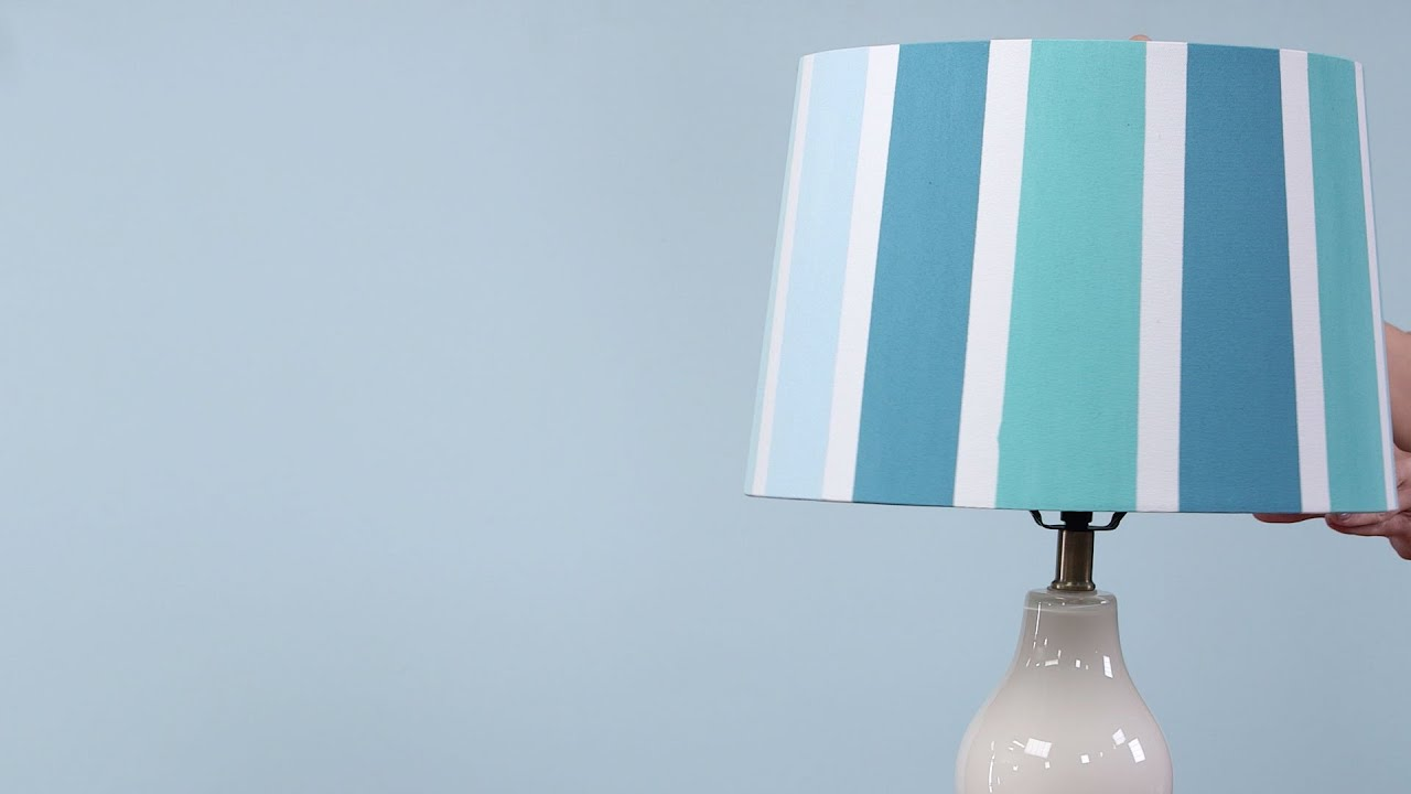 Easy Painted Lampshade Southern Living Youtube