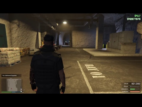GTA Online - Insurgent pick-up custom & Bunker resupplies sales LIVE PS4