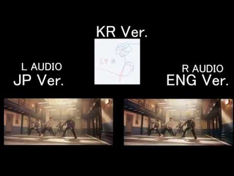 BTS (방탄소년단) 'MIC Drop' 3 Ver. comparison (Korean Japanese Steve aoki remix)