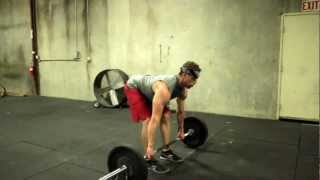 Bent Over Row - How To Demonstration