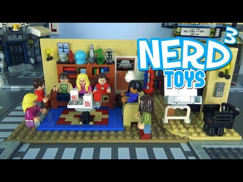 Nerd³'s Lego - The Big Bang Theory - 21302