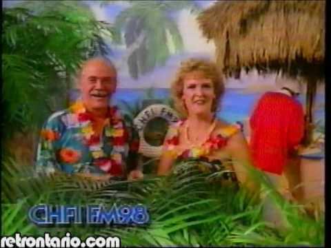 CHFI on Gilligan's Island [Bob Denver] (1993)