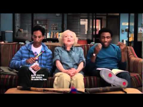 Troy, Abed, Betty White Anthropology Rap