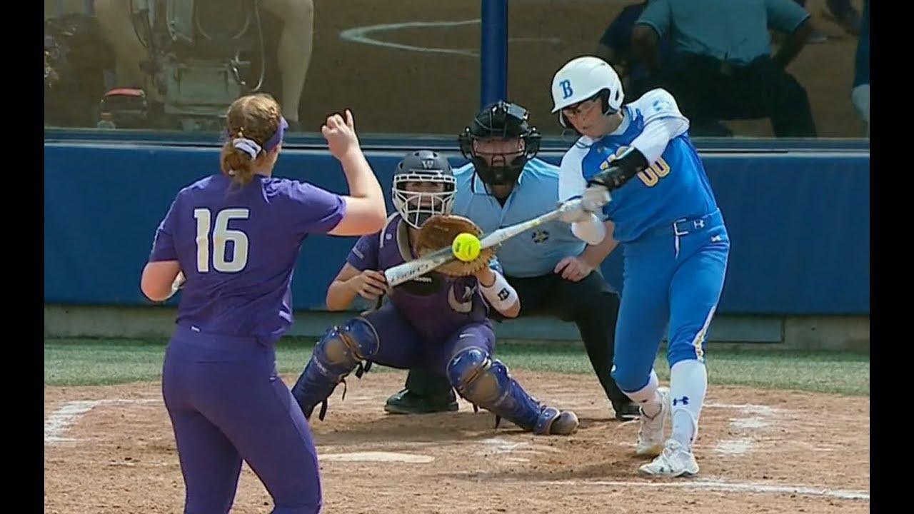 UCLA Bruins Need Just One Win to Capture the NCAA Softball WCWS Title