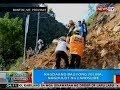 BP: Nagdaang Bagyong Jolina, nagdulot ng landslide sa Bontoc, Mt. Province