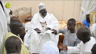 Ligue Sénégalaise Contre le Cancer (LISCA) reçue par le  Khalif Général Mourides S. Mountakha MBACKE