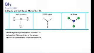 BI3 Lewis Structure And Molecular Geometry