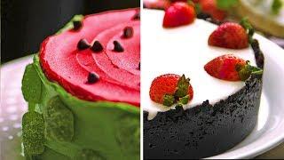 Украшение тортов: подборка для сладкоежек | Удивительные десерты