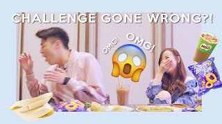 CHALLENGE GONE WRONG!!! TRYING MALAYSIAN SNACKS 🇲🇾 (FEAT. JAMES LEE)