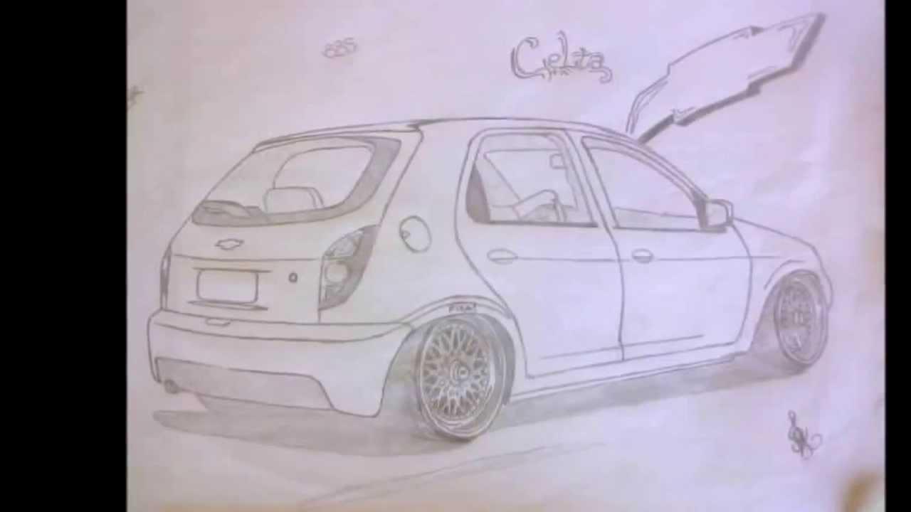 Meus Desenhos E A Evolucao Deles Carros Rebaixados Youtube