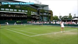 Video Wimbledon Practise Match Compilation Court Level View download MP3, 3GP, MP4, WEBM, AVI, FLV Januari 2018