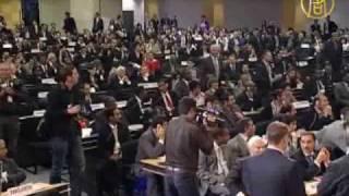 Участие Ирана в конференции ООН закончилось скандалом(Конференция по борьбе с расизмом началась с крупного международного скандала. Когда с трибуны начал выступ..., 2009-04-23T11:28:22.000Z)
