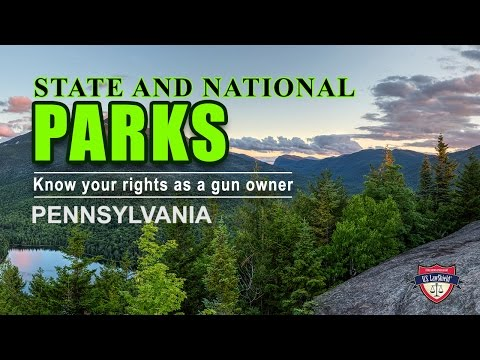 PA State and Federal Parks