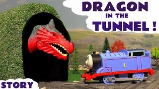 Thomas & Friends Train Toys Dragon Prank - Toy Trains Story for kids and children ToyTrains4u