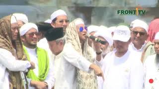 Membara Orasi  Habib  Bahar Bin Smith Reuni Akbar 212, Monas 2018.