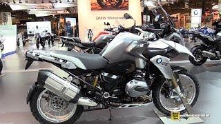 2015 BMW R1200 GS - Walkaround - 2014 EICMA Milan Motorcycle Exhibition