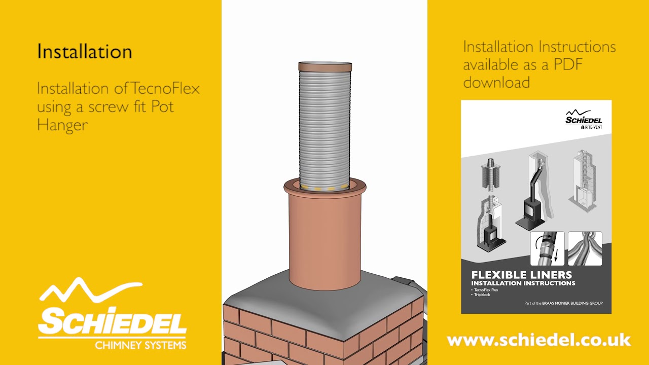 Fitting A Stove And Re Lining A Chimney Flue Using Steel