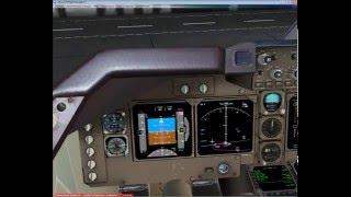 Полёт на Boeing-747-8i PMDG для начинающих в Microsoft Flight Simulator X FSX