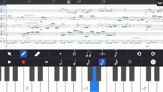 Symphony for iPhone Music Notation App – Overview