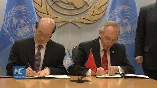 Chinainks$200millionagreementtofinanceUN peace,securityanddevelopmentactivities