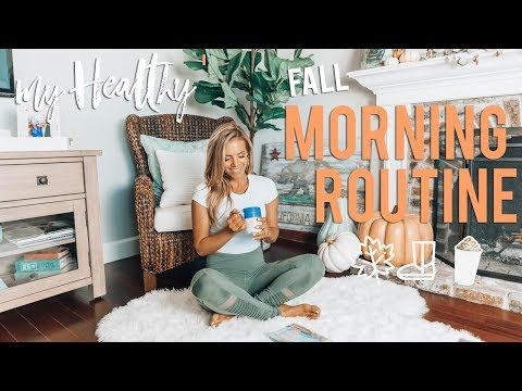 My Real HEALTHY Fall Morning Routine 2018 | Busy Girl Hacks