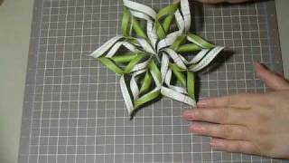 Snowflake Star Ornament.wmv