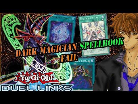 DARK MAGICIAN SPELLBOOK FAIL   YuGiOh Duel Links