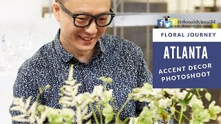 Accent Decor Photoshoot @ Atlanta | FLORAL JOURNEY |